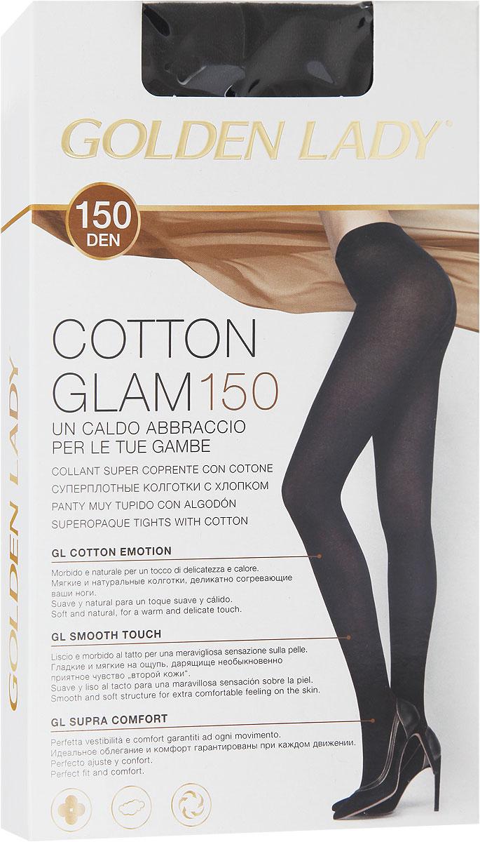 Колготки женские Cotton Glam 15024JJJУдобные и стильные женские колготки Golden Lady Cotton Glam 150, изготовленные из высококачественного комбинированного материала, идеально подойдут вам. Колготки легко тянутся, что делает их комфортными в носке. Гладкие и мягкие на ощупь колготки имеют комфортные плоские швы, дополнены гигиенической ластовицей. Идеальное облегание и комфорт гарантированы при каждом движениию Эластичная резинка на поясе плотно облегает талию, обеспечивая комфорт и удобство. Плотность: 150 den.