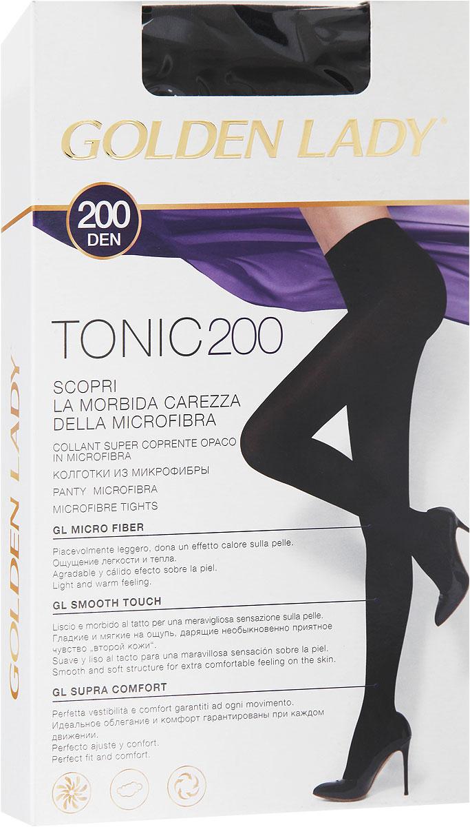 Колготки Tonic 200115OOOУдобные и стильные женские колготки Golden Lady Tonic 200, изготовленные из высококачественного комбинированного материала, идеально подойдут вам. Колготки легко тянутся, что делает их комфортными в носке. Плотные колготки из мягкой микрофибры имеют комфортные плоские швы, дополнены гигиенической ластовицей. Эластичная резинка на поясе плотно облегает талию, обеспечивая комфорт и удобство. Плотность: 200 den.