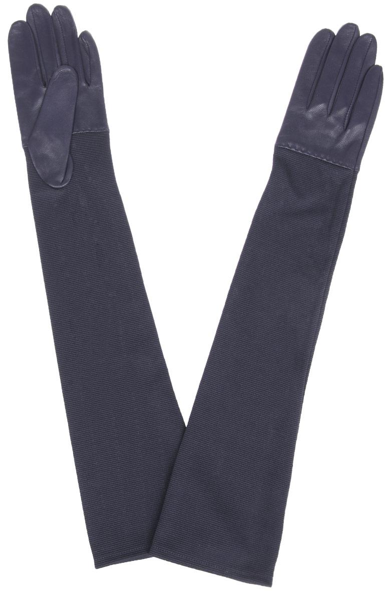 IS01015Элегантные удлиненные женские перчатки Eleganzza станут великолепным дополнением вашего образа и защитят ваши руки от холода и ветра во время прогулок. Перчатки выполнены из натуральной кожи ягненка и не имеют подкладки. Модель дополнена длинными трикотажными манжетами и имеет удлиненные пальцы. Такие перчатки будут оригинальным завершающим штрихом в создании современного модного образа, они подчеркнут ваш изысканный вкус и станут незаменимым и практичным аксессуаром.