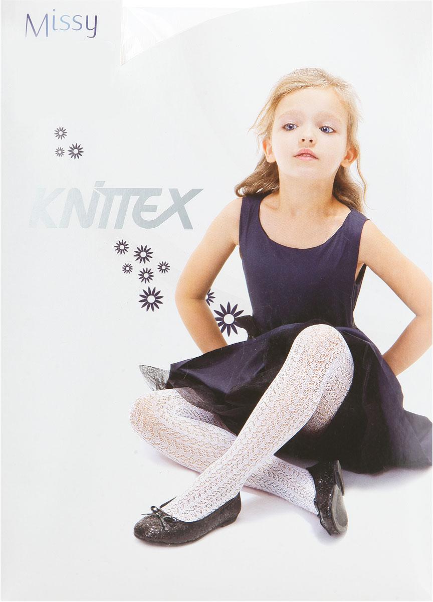 Колготки для девочки MissyMissyТонкие, ажурные колготки для девочки Knittex Missy, изготовленные из высококачественного материала, идеально подойдут вашей дочурке. Полиамид и эластан предотвращают растяжение и деформацию после стирки. Чрезвычайно мягкие колготки имеют широкую резинку и комфортные плоские швы. Колготки равномерно облегают ножки, не сдавливая и не доставляя дискомфорта. Эластичные швы и мягкая резинка на поясе не позволят колготам сползать, и при этом не будут стеснять движений. Оформлено изделие ажурным рисунком. Классические колготки - это идеальное решение на каждый день для прогулки, школы, яслей или садика. Такие колготки станут великолепным дополнением к гардеробу вашей красавицы.