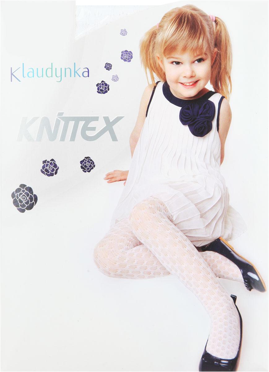 Колготки для девочки KlaudynkaKlaudynkaТонкие, ажурные колготки для девочки Knittex Klaudynka, изготовленные из высококачественного материала, идеально подойдут вашей дочурке. Полиамид и эластан предотвращают растяжение и деформацию после стирки. Чрезвычайно мягкие колготки имеют широкую резинку и комфортные плоские швы. Колготки равномерно облегают ножки, не сдавливая и не доставляя дискомфорта. Эластичные швы и мягкая резинка на поясе не позволят колготам сползать, и при этом не будут стеснять движений. Оформлено изделие ажурным рисунком. Классические колготки - это идеальное решение на каждый день для прогулки, школы, яслей или садика. Такие колготки станут великолепным дополнением к гардеробу вашей красавицы.