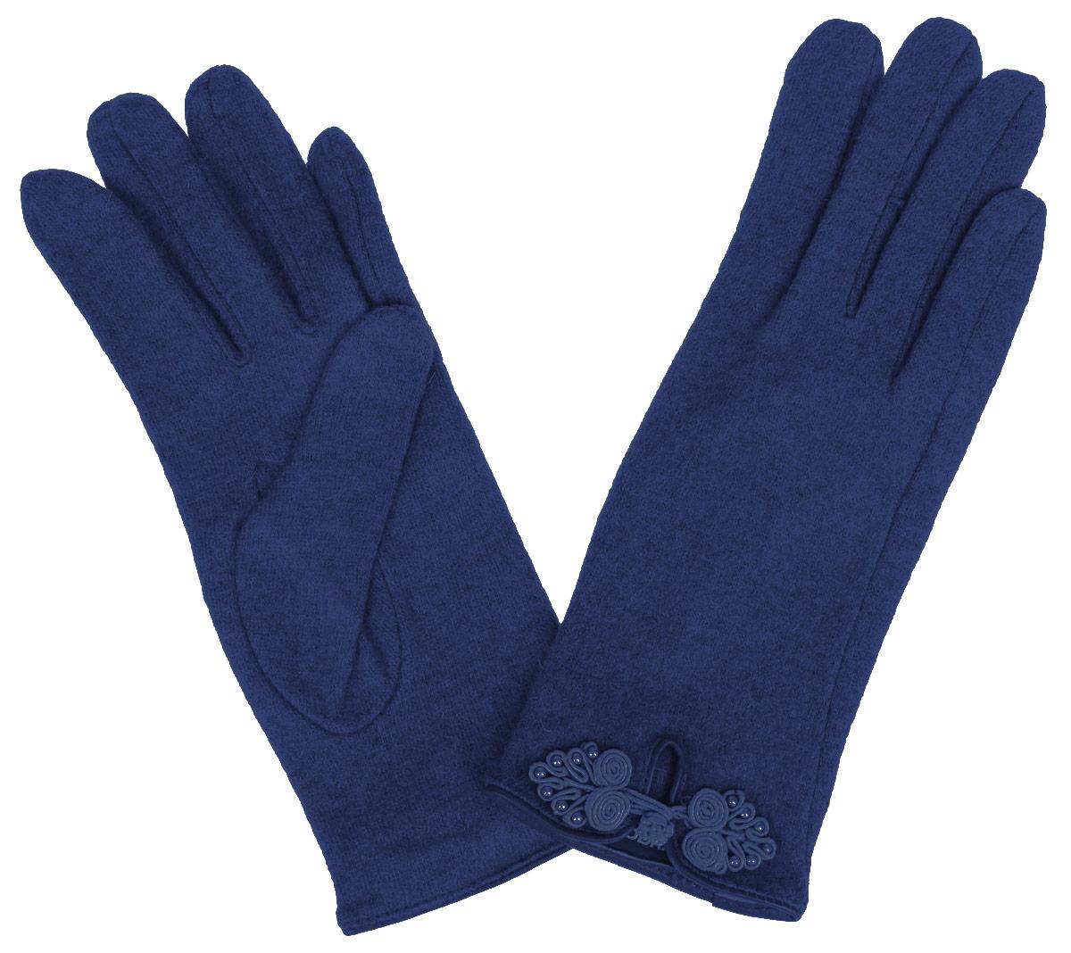 Перчатки женские. LB-PH-63LB-PH-63Элегантные женские перчатки Eleganzza станут великолепным дополнением вашего образа и защитят ваши руки от холода и ветра во время прогулок. Перчатки выполнены из высококачественной комбинированной пряжи, что позволяет им надежно сохранять тепло и обеспечивает высокую гигроскопичность. Модель оформлена декоративной отделкой из шелкового жгута. Такие перчатки будут оригинальным завершающим штрихом в создании современного модного образа, они подчеркнут ваш изысканный вкус и станут незаменимым и практичным аксессуаром.
