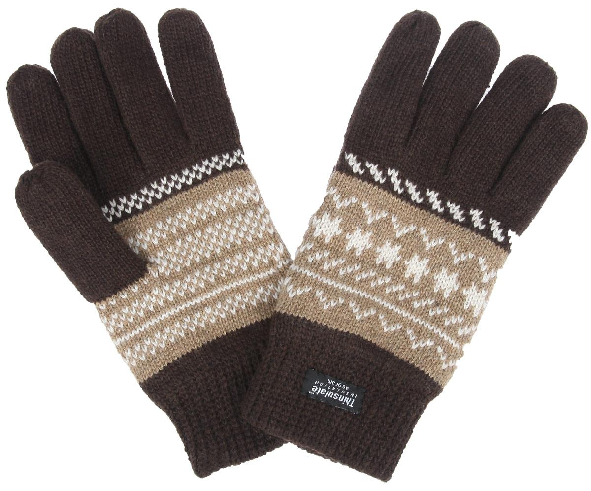 Перчатки мужские. M8M8Теплые мужские перчатки Modo надежно защитят ваши руки от холода! Перчатки выполнены из шерсти и акрила с подкладкой из мягкого флиса. Такие перчатки станут отличным дополнением к вашему зимнему гардеробу!
