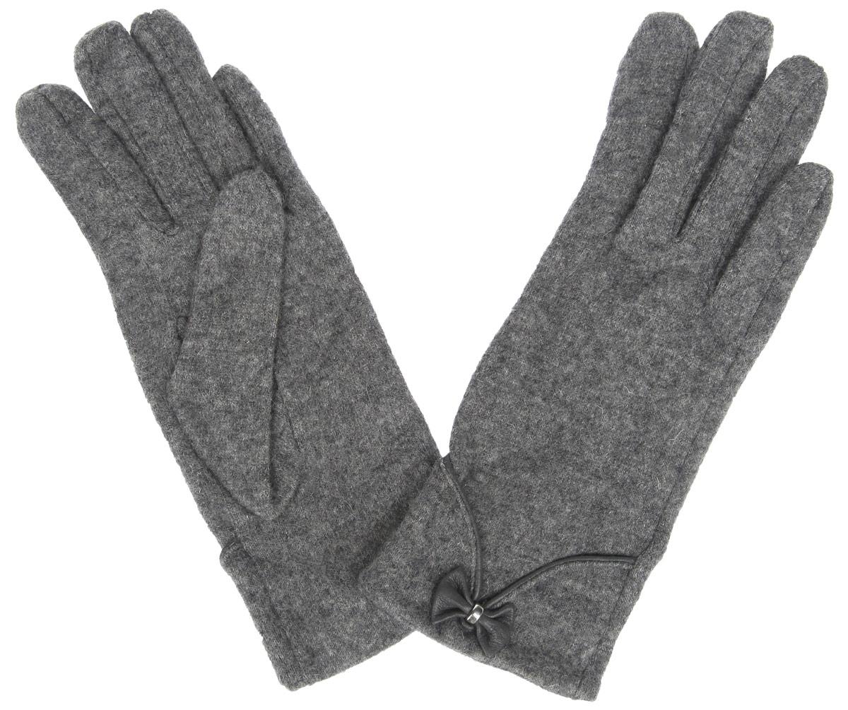 Перчатки женские. LB-PH-50LB-PH-50Стильные женские перчатки Labbra не только защитят ваши руки от холода, но и станут великолепным украшением. Перчатки выполнены из шерсти с добавлением акрила и ангоры. Модель дополнена декоративной манжетой, окантованной кожей и кожаным бантом. В настоящее время перчатки являются неотъемлемой частью гардероба, вместе с этим аксессуаром вы обретаете женственность и элегантность. Перчатки станут завершающим и подчеркивающим элементом вашего стиля и неповторимости.