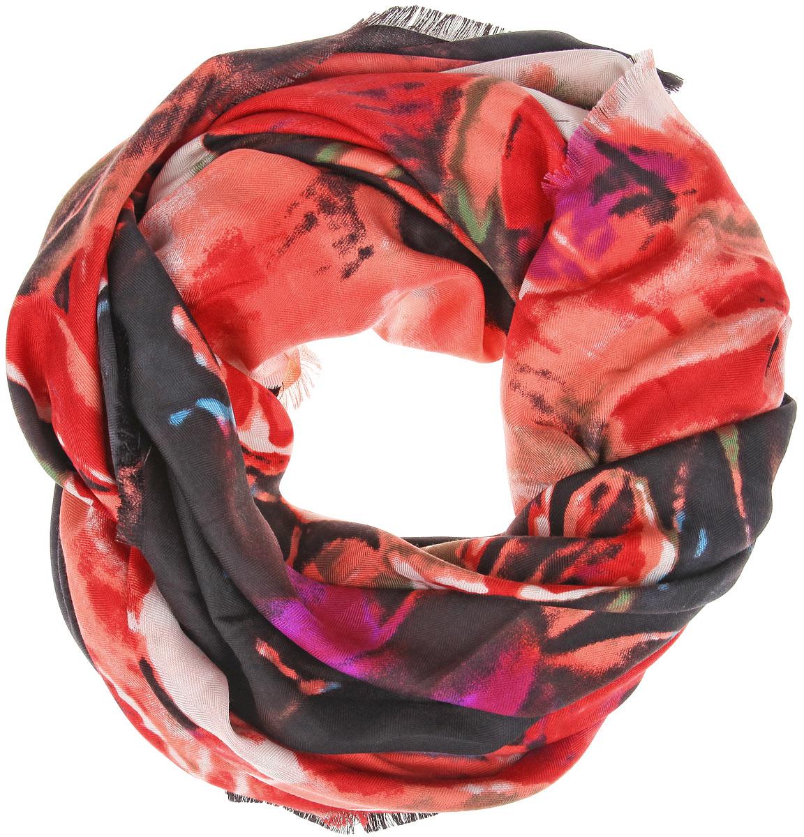 ПлатокBH-11526-13Великолепный платок Fiona Fantozzi станет изысканным аксессуаром, который подчеркнет ваши индивидуальность и очарование. Платок изготовлен из модала с добавлением кашемира и оформлен эффектным цветочным узором. Края модели украшены короткой бахромой. Платок Fiona Fantozzi станет вашим верным спутником, а окружающие обязательно будут обращать свое восторженное внимание на вас.