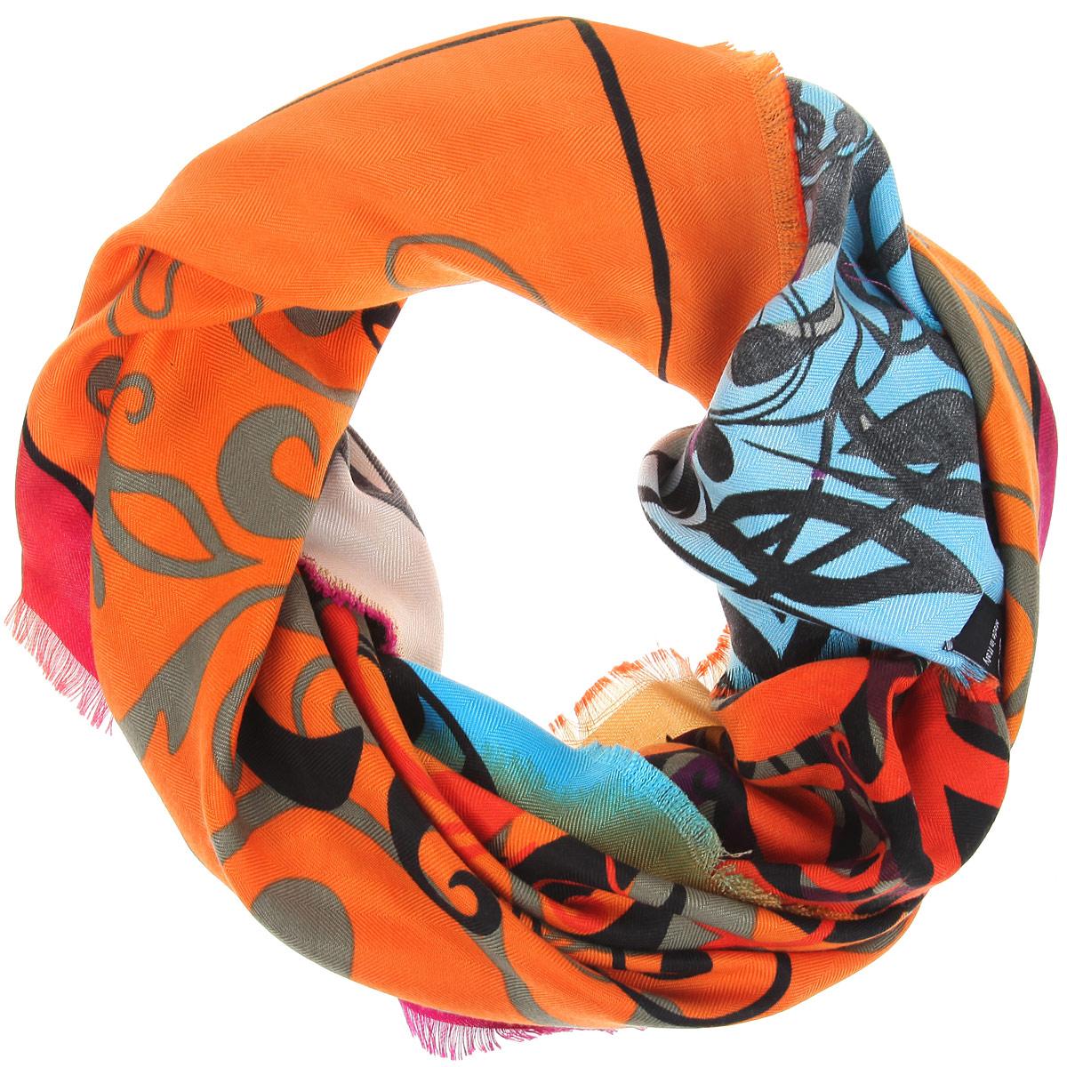 Платок женский. BH-11531BH-11531-5Элегантный платок от Sophie Ramage внесет изысканные нотки в ваш образ. Модель выполнена из модала с добавлением кашемира и декорирована изумительным орнаментом. Края платка оформлены бахромой. Этот модный аксессуар женского гардероба гармонично дополнит образ современной женщины, следящей за своим имиджем и стремящейся всегда оставаться стильной и женственной.