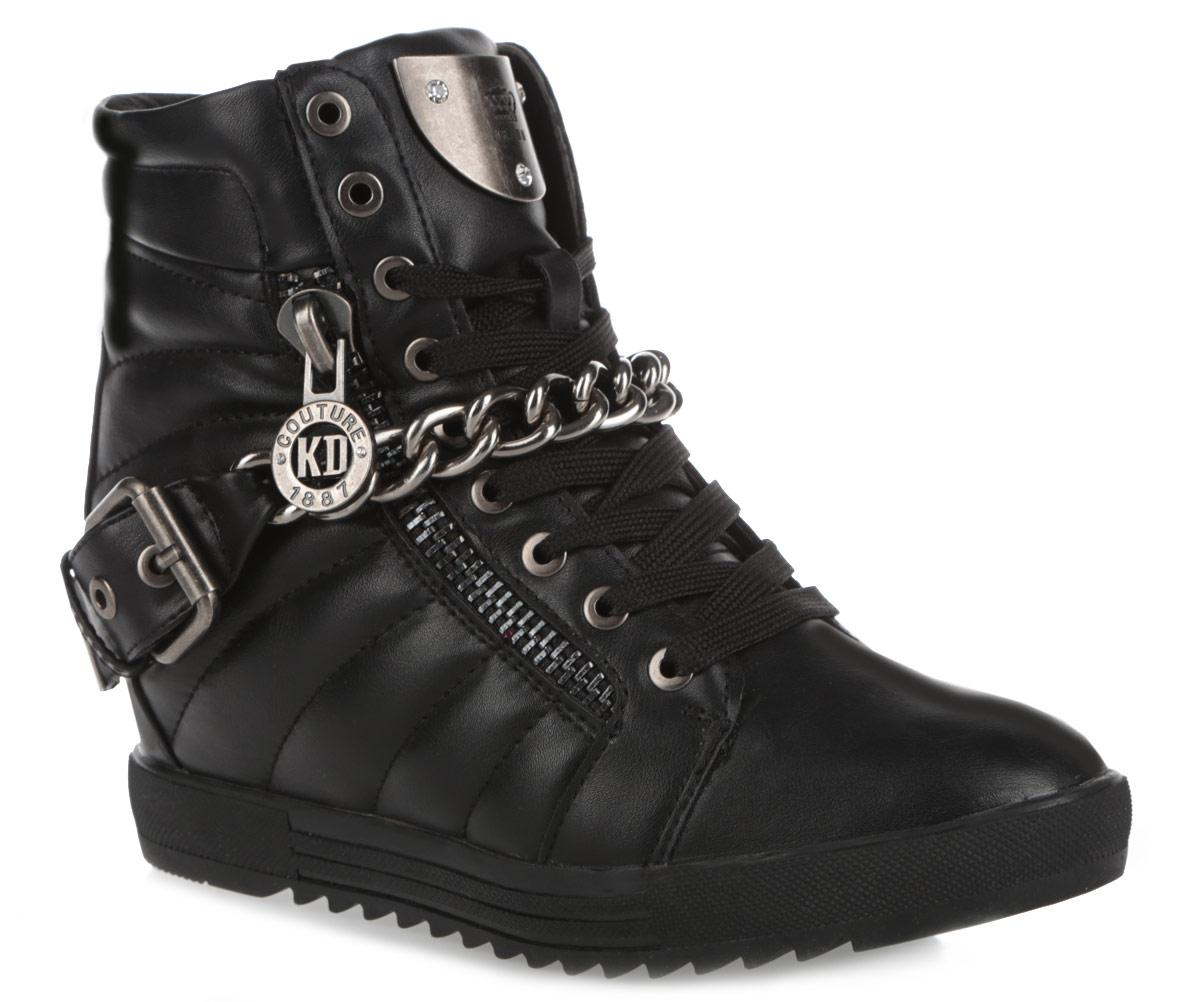 Ботинки558131/01-02Оригинальные ботинки Keddo покорят вашу девочку с первого взгляда! Модель выполнена из искусственной кожи, оформленной по бокам горизонтальной строчкой. Подкладка и стелька из натуральной шерсти согреют ножки ребенка в холод. Верх изделия дополнен шнуровкой, которая надежно фиксирует модель на ноге и регулирует объем. Боковая сторона ботинок оформлена декоративной молнией с оригинальной собачкой, инкрустированной стразами, и декоративным ремешком с пряжкой. Подъем украшает металлическая цепь. Язычок декорирован металлической пластиной с тиснением в виде логотипа бренда, оформленной стразами. Ботинки застегиваются на застежку-молнию, расположенную на одной из боковых сторон. Высокая подошва имеет специальное рифление, которое защищает от скольжения и сохраняет гибкость даже в значительные морозы. Удобные ботинки придутся по душе вашему ребенку!