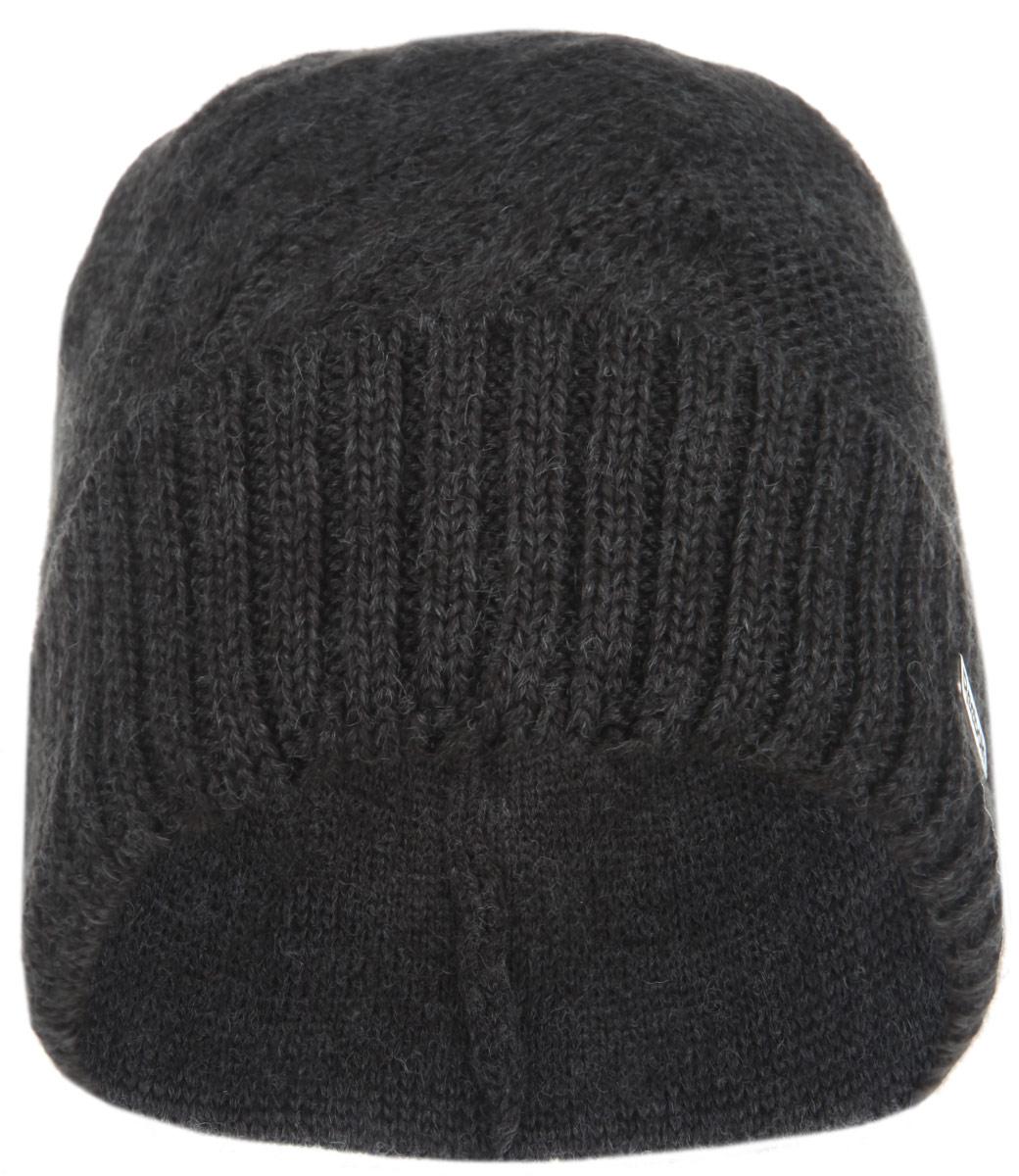 Шапка мужская. Z7180Z71802Мужская шапка Reebok - полушерстяная облегающая шапка, которая отлично дополнит ваш образ в холодную погоду. Сочетание акрила и шерсти максимально сохраняет тепло и обеспечивает удобную посадку. Низ изделия дополнен отворотом, связанным крупной резинкой. Оформлена шапка небольшой металлической пластиной с названием бренда. Такая шапка составит идеальный комплект с модной верхней одеждой, в ней вам будет уютно и тепло!