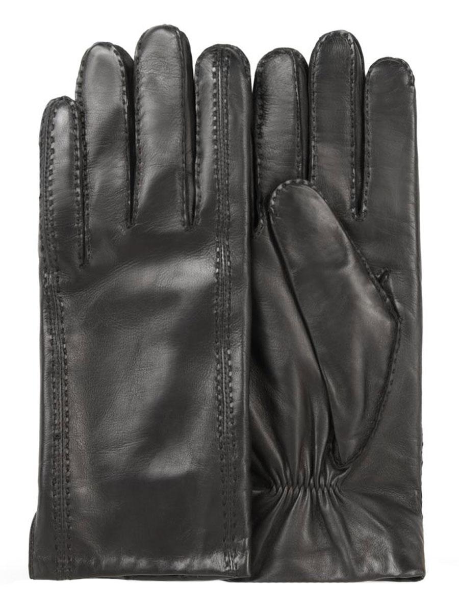 Перчатки мужские. 100_HOLLAND100_HOLLAND/BL//11Классические мужские перчатки Dali Exclusive не только защитят ваши руки, но и станут великолепным украшением. Перчатки выполнены из чрезвычайно мягкой и приятной на ощупь натуральной кожи ягненка, а их подкладка - из натуральной шерсти. Перчатки с внешней стороны оформлены декоративными швами. Манжеты с внутренней стороны дополнены вставкой-резинкой. Модель благодаря своему лаконичному исполнению прекрасно дополнит образ любого мужчины и сделает его более стильным, придав тонкую нотку брутальности. Создайте элегантный образ и подчеркните свою яркую индивидуальность новым аксессуаром!