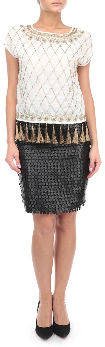 ЮбкаSSD0917CAОригинальная юбка Top Secret выполнена из высококачественного полиэстера с добавлением эластана, она обеспечит вам комфорт и удобство при носке. Юбка с легким подъюбником застегивается сзади на застежку-молнию. Модель с декоративной поверхностью дополнена на талии широким поясом. Классический фасон и оригинальное оформление этой юбки сделают ваш образ ярким и неповторимым. Стильная юбка выгодно освежит и разнообразит любой гардероб.