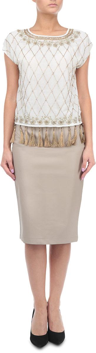 Юбка. SSD0894BESSD0894BEСтильная юбка Top Secret, изготовленная из искусственной кожи, чрезвычайно приятная на ощупь. Модная юбка-карандаш длиной ниже колена подчеркнет все достоинства вашей фигуры. Изделие застегивается на скрытую застежку-молнию по заднему срединному шву. Эта великолепная юбка станет отличным дополнением к вашему гардеробу!