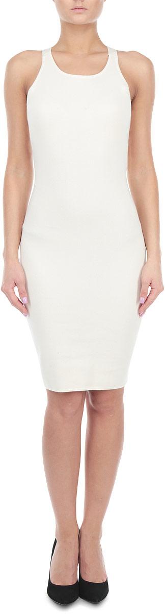 Платье. CK2315CK2315 BlackЭлегантное платье Glamorous, выполненное из высококачественной хлопка с добавлением лайкры, преподносит все достоинства женской фигуры в наиболее выгодном свете. Модель облегающего кроя с на широких бретелях. Это стильное платье станет отличным дополнением к вашему гардеробу!