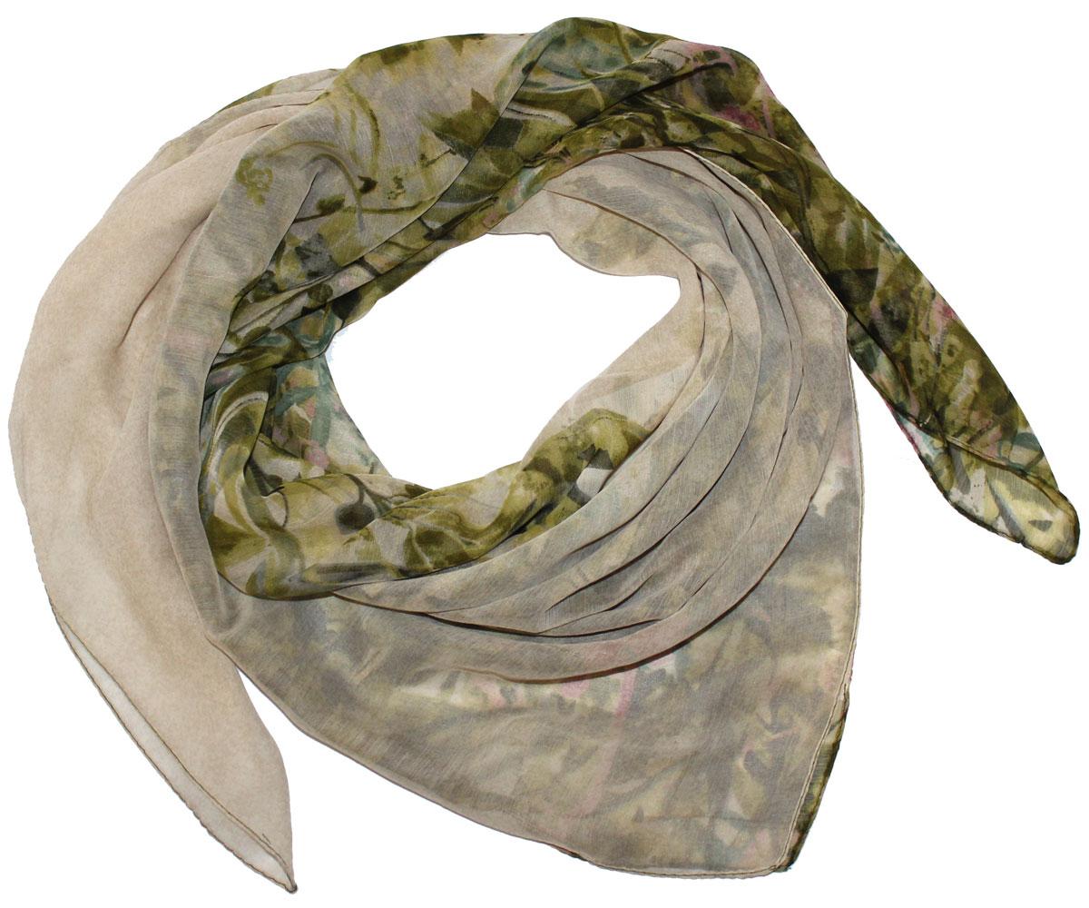 Платок женский. 524040н524040нПлаток Ethnica, выполненный из вискозы, гармонично дополнит образ современной женщины. Благодаря своему составу, он легкий, мягкий и приятный на ощупь. Модель оформлена растительным принтом. Классическая квадратная форма позволяет носить платок на шее, украшать им прическу или декорировать сумочку. С таким платком вы всегда будете выглядеть женственно и привлекательно.