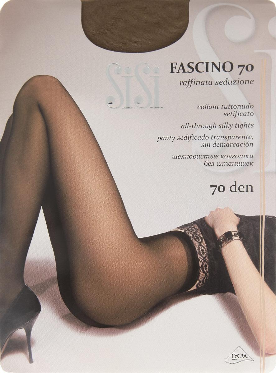 Колготки Fascino 7066SISIШелковистые колготки Sisi Fascino 70, изготовленные из высококачественного материала, идеально дополнят ваш образ. Прозрачные колготки без шортиков дополнены ластовицей, комфортными швами и невидимым мыском. Идеальное облегание и комфорт гарантированы при каждом движении. Плотность: 70 den.