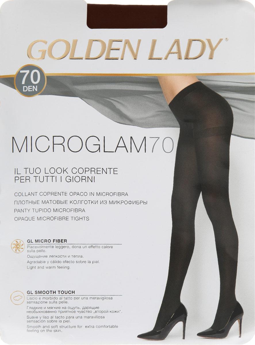 Колготки Microglam 7024IIIПлотные колготки Golden Lady Microglam 70, изготовленные из высококачественного комбинированного материала (микрофибры), идеально дополнят ваш образ в прохладную погоду. Колготки легко тянутся, что делает их комфортными в носке. Гладкие и мягкие на ощупь колготки имеют комфортные плоские швы, гигиеническую ластовицу и невидимый мысок. Идеальное облегание и комфорт гарантированы при каждом движении. Эластичная резинка на поясе плотно облегает талию, обеспечивая комфорт и удобство. Плотность: 70 den.