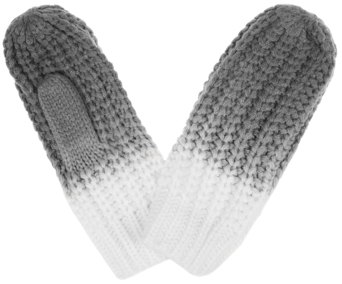 Варежки женские. Z-RE-1803Z-RE-1803 BEIGEВязаные женские варежки Moodo не только защитят ваши руки от холода, но и станут великолепным украшением. Модель выполнена из акриловой пряжи, которая максимально сохраняет тепло и хорошо держит форму. На запястье изделие дополнено вязкой в резинку. Вместе с этим аксессуаром вы обретаете женственность и элегантность. Варежки Eleganzza станут завершающим и подчеркивающим элементом вашего стиля и неповторимости.