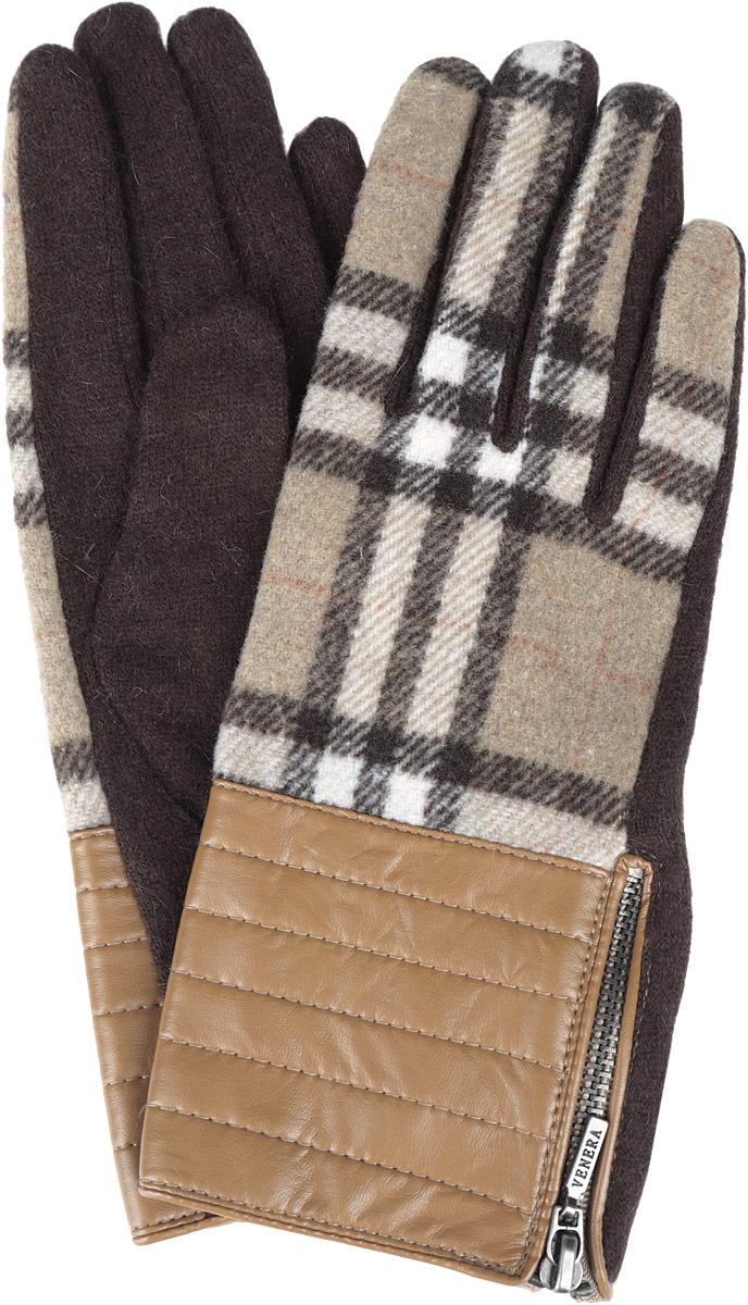 Перчатки женские. 95020649502064-02Стильные женские перчатки Venera не только защитят ваши руки от холода, но и станут великолепным украшением. Модель изготовлена из шерсти с добавлением ангоры и нейлона. Интересный дизайн смотрится очень изысканно и нарядно, а вставка из искусственной кожи с застежкой-молнией придает сдержанность и элегантность. Перчатки являются неотъемлемой принадлежностью одежды, вместе с этим аксессуаром вы обретаете женственность и элегантность. Они станут завершающим и подчеркивающим элементом вашего неповторимого стиля и индивидуальности.