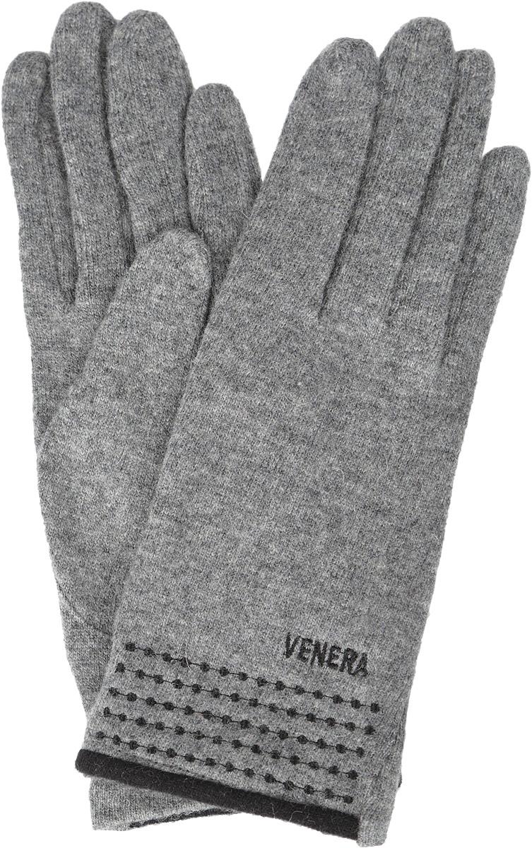 Перчатки женские. 95046159504615-02Стильные женские перчатки Venera не только защитят ваши руки от холода, но и станут великолепным украшением. Перчатки выполнены из натуральной шерсти с добавлением нейлона. Манжеты перчаток с лицевой стороны украшены вышивкой. В настоящее время перчатки являются неотъемлемой принадлежностью одежды, вместе с этим аксессуаром вы обретаете женственность и элегантность. Перчатки станут завершающим и подчеркивающим элементом вашего стиля и неповторимости.