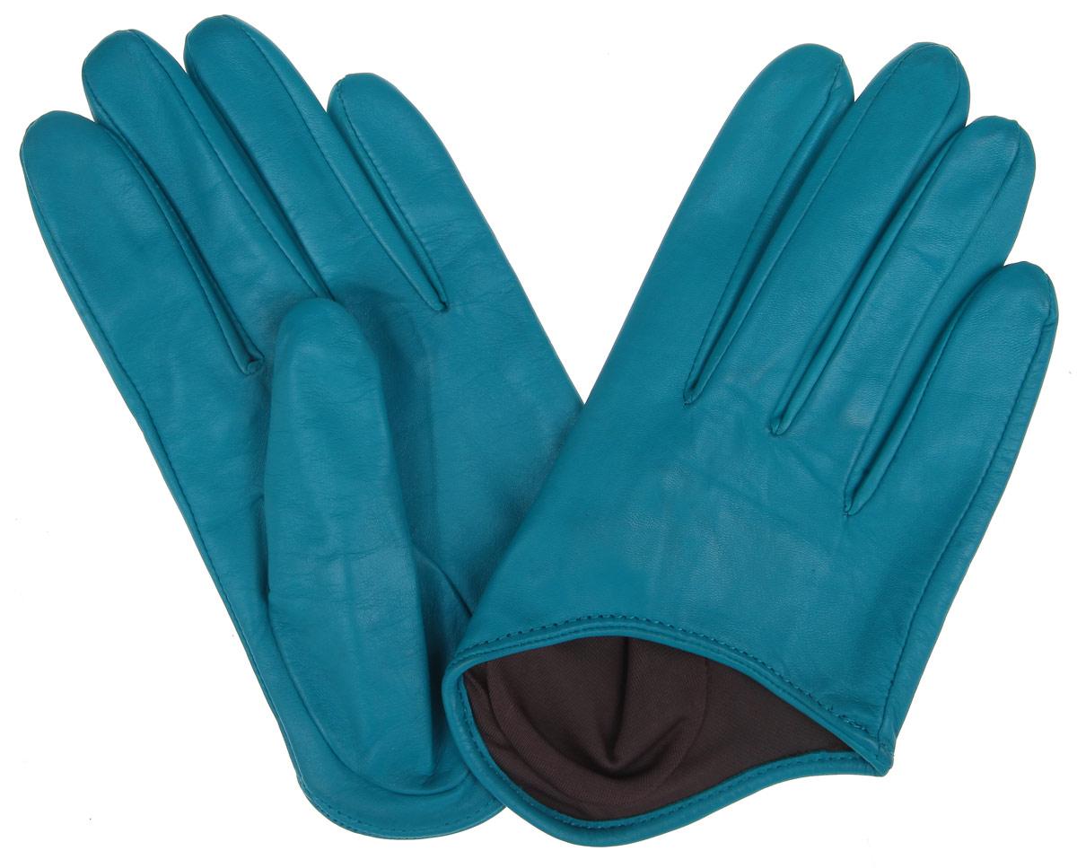 Перчатки женские. K81-IN1K81-IN1/AZURСтильные укороченные перчатки Michel Katana с шелковой подкладкой выполнены из мягкой и приятной на ощупь натуральной кожи ягненка на хлопковой подкладке. Перчатки станут достойным элементом вашего стиля и сохранят тепло ваших рук. Это не просто модный аксессуар, но и уникальный авторский стиль, наполненный духом севера Франции.