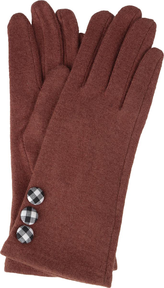 Перчатки женские. 95002439500243-02Стильные женские перчатки Venera не только защитят ваши руки от холода, но и станут великолепным украшением. Перчатки выполнены из натуральной шерсти. Манжеты перчаток с лицевой стороны украшены декоративными оригинальными пуговицами. В настоящее время перчатки являются неотъемлемой принадлежностью одежды, вместе с этим аксессуаром вы обретаете женственность и элегантность. Перчатки станут завершающим и подчеркивающим элементом вашего стиля и неповторимости.