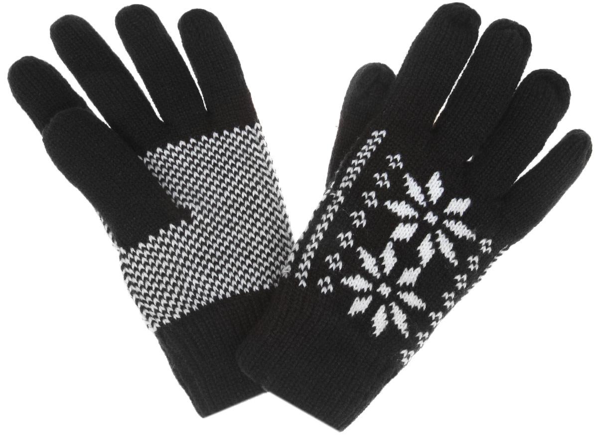 Перчатки женские. Z-RE-1815Z-RE-1815 BLACKВязаные женские перчатки Moodo надежно защитят ваши руки от холода. Перчатки выполнены из высококачественного акрила с подкладкой из флиса. На запястье изделие дополнено вязкой в резинку. Модель формалина нежным зимним узором. Перчатки станут завершающим и подчеркивающим элементом вашего стиля и неповторимости.