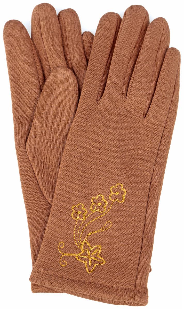 Перчатки женские. 1306-R1306-RСтильные женские перчатки Lovebird не только защитят ваши руки от холода, но и станут великолепным украшением. Перчатки выполнены из 100% хлопка, а с внутренней стороны дополнены ворсистым слоем текстиля. Манжеты перчаток с внешней стороны украшены цветочной вышивкой. В настоящее время перчатки являются неотъемлемой принадлежностью одежды, вместе с этим аксессуаром вы обретаете женственность и элегантность. Перчатки станут завершающим и подчеркивающим элементом вашего стиля и неповторимости.
