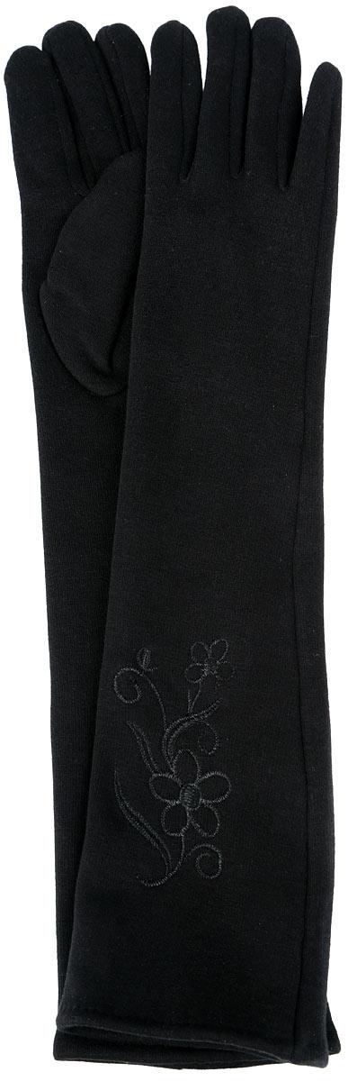 Перчатки женские, удлиненные. 03-R03-RДлинные женские перчатки Pitdards не только защитят ваши руки от холода, но и станут великолепным украшением. Перчатки выполнены из 100% хлопка, а с внутренней стороны дополнены ворсистым слоем текстиля. Манжеты перчаток с лицевой стороны украшены вышивкой. В настоящее время перчатки являются неотъемлемой принадлежностью гардероба, вместе с этим аксессуаром вы обретаете женственность и элегантность. Перчатки станут завершающим и подчеркивающим элементом вашего стиля и неповторимости.