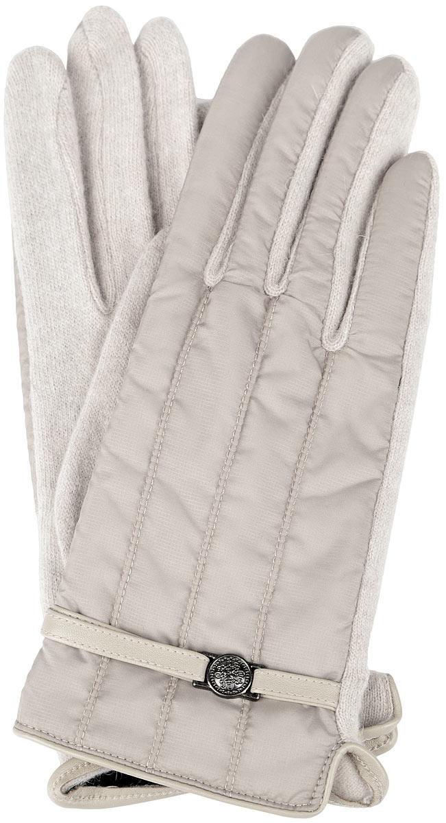 Перчатки женские. 95010649501064-02Стильные женские перчатки Venera не только защитят ваши руки от холода, но и станут великолепным украшением. Перчатки выполнены из высококачественного комбинированного материала (внешняя сторона - нейлон, тыльная сторона - шерсть). Подкладка внешней стороны выполнена из ангоры и утеплена слоем полиамида. С внешней стороны изделие украшено декоративным ремешком. В настоящее время перчатки являются неотъемлемой принадлежностью гардероба, вместе с этим аксессуаром вы обретаете женственность и элегантность. Перчатки станут завершающим и подчеркивающим элементом вашего стиля и неповторимости.