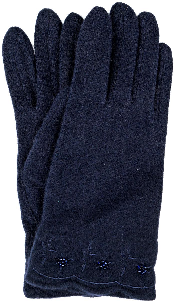 Перчатки женские. 95007649500764-02Стильные женские перчатки Venera не только защитят ваши руки от холода, но и станут великолепным украшением. Перчатки выполнены из натуральной шерсти с добавлением ангоры и нейлона. Манжеты перчаток с лицевой стороны украшены цветочной вышивкой и цветочками из бисера. В настоящее время перчатки являются неотъемлемой принадлежностью одежды, вместе с этим аксессуаром вы обретаете женственность и элегантность. Перчатки станут завершающим и подчеркивающим элементом вашего стиля и неповторимости.