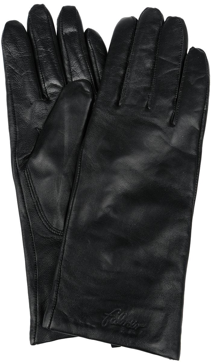 ПерчаткиL-036Стильные женские перчатки Falner не только защитят ваши руки от холода, но и станут великолепным украшением. Модель изготовлена из чрезвычайно мягкой и приятной на ощупь натуральной кожи, а их подкладка - из шерсти с добавлением акрила. На лицевой стороне изделие оформлено тиснением в виде названия бренда. Перчатки являются неотъемлемой принадлежностью одежды, вместе с этим аксессуаром вы обретаете женственность и элегантность. Они станут завершающим и подчеркивающим элементом вашего неповторимого стиля и индивидуальности.