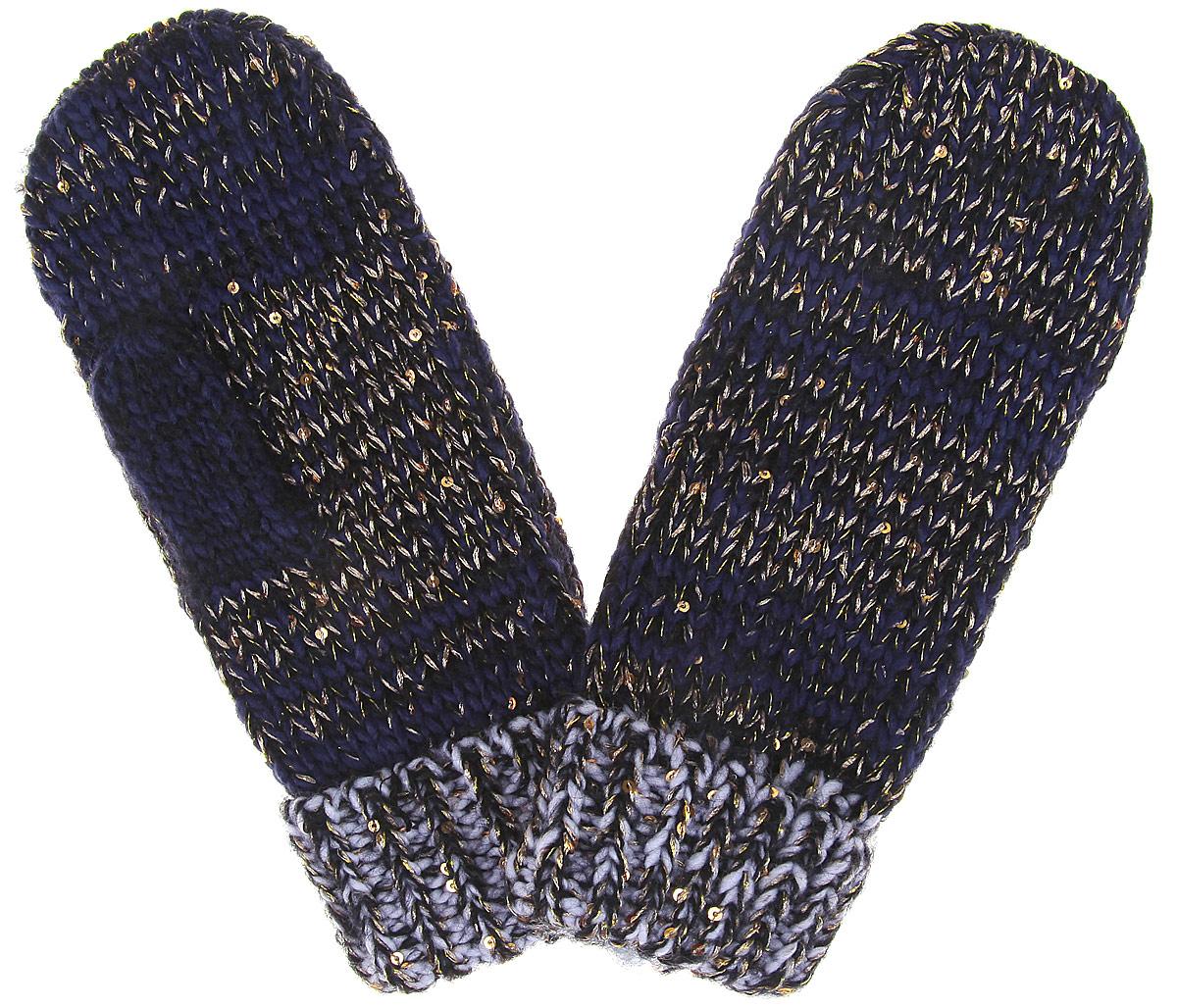 Варежки женские. Z-RE-1800Z-RE-1800_BEIGEВарежки торговой марки Moodo станут идеальным вариантом для прохладной погоды. Они максимально сохраняют тепло, мягкие, идеально сидят на руке и хорошо тянутся. Изделие выполнено из акриловой пряжи, очень мягкой и приятной на ощупь. Модель декорирована мелкими пайетками. Интересный дизайн и расцветка изделия сделают ваш образ стильным и привлекательным. Такие варежки надежно защитят ваши руки от холода.