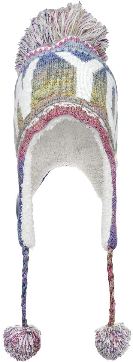 Шапка New York. HNY505HNY505-DСтильная шапка Robin Ruth спринтом New York приятно дополнит ваш образ в холодную погоду. Шапка подходит для повседневной носки и для активного зимнего отдыха, а также в качестве подарка вашим родным и знакомым. Внешняя сторона шапки - вязаное полотно, подкладка - мягкий флис. Шапка с завязками очень практична - благодаря широким и удлиненным ушкам тепло и комфорт вам обеспечены даже в самую ветреную погоду. Шапка оформлена помпоном, завязки выполнены в виде кос с помпонами на концах и декорирована пластиковым значком с логотипом фирмы. Теплая шапка станет отличным дополнением к вашему гардеробу, в ней вам будет уютно и тепло!