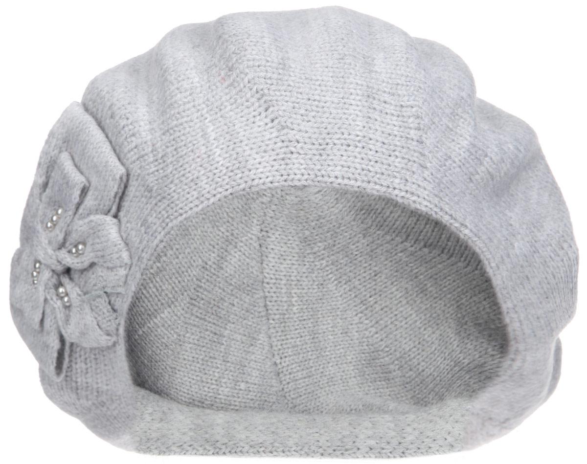 Берет1-003-002Элегантный женский берет Flioraj отлично дополнит ваш образ в холодную погоду. Берет выполнен из высококачественной комбинированной пряжи, что позволяет ему максимально сохранять тепло и обеспечивает удобную посадку. Берет оформлен вязаным бантом. Такая модель комфортна и приятна на ощупь, она великолепно подчеркнет ваш вкус и подойдет к любому наряду. Такой берет станет отличным дополнением к вашему осеннему или зимнему гардеробу, в нем вам будет уютно и тепло! Уважаемые клиенты! Размер, доступный для заказа, является обхватом головы.