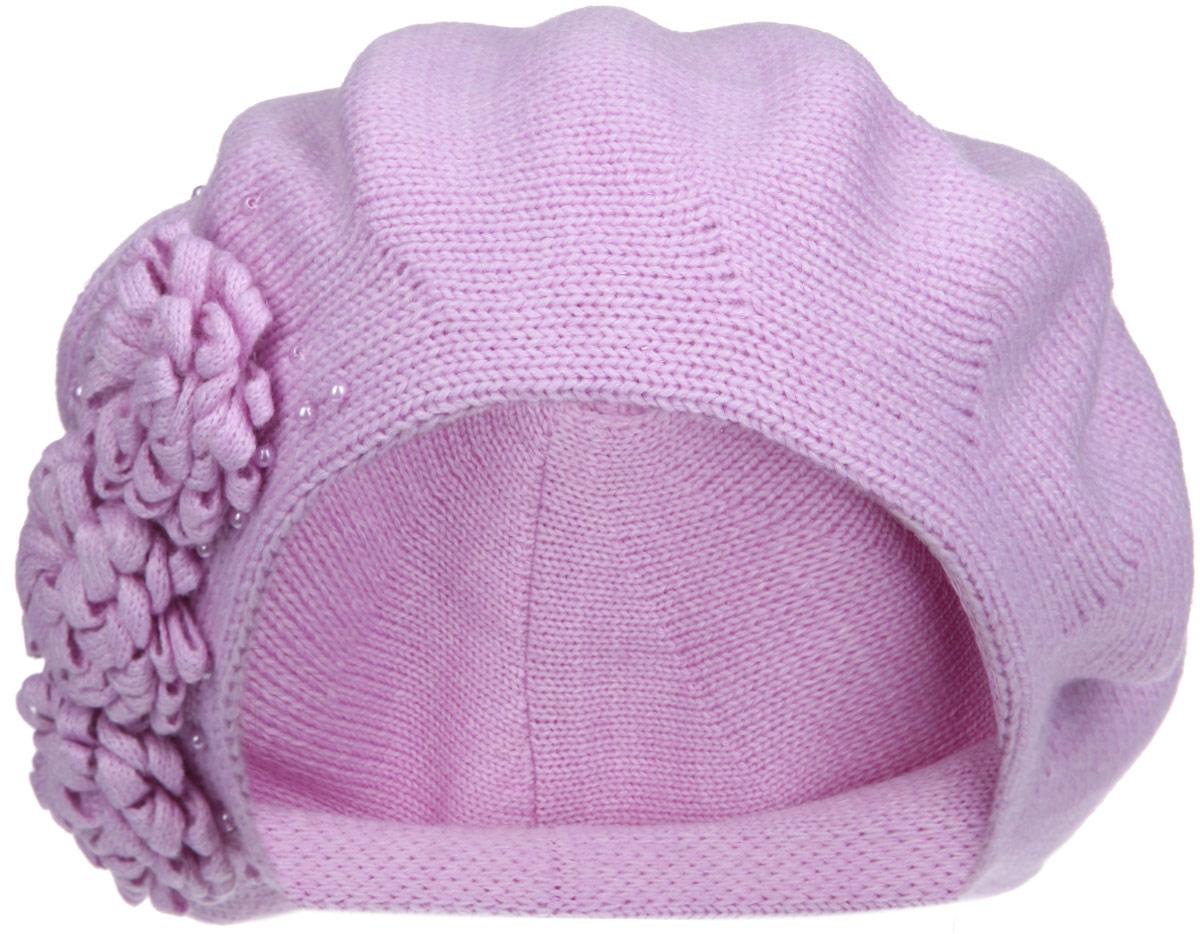 1-001_002Женский берет Flioraj, выполненный из шерсти с добавлением акрила, станет отличным дополнением к вашему гардеробу в холодную погоду. Он мягкий и приятный на ощупь, обладает хорошими дышащими свойствами и максимально удерживает тепло. Двойной берет имеет традиционную форму. Модель украшена декоративными элементами в виде цветов, а также бусинами. Такой стильный и теплый аксессуар подчеркнет вашу женственность и неповторимость, создавая ощущение мягкости и комфорта. Уважаемые клиенты! Размер, доступный для заказа, является обхватом головы.