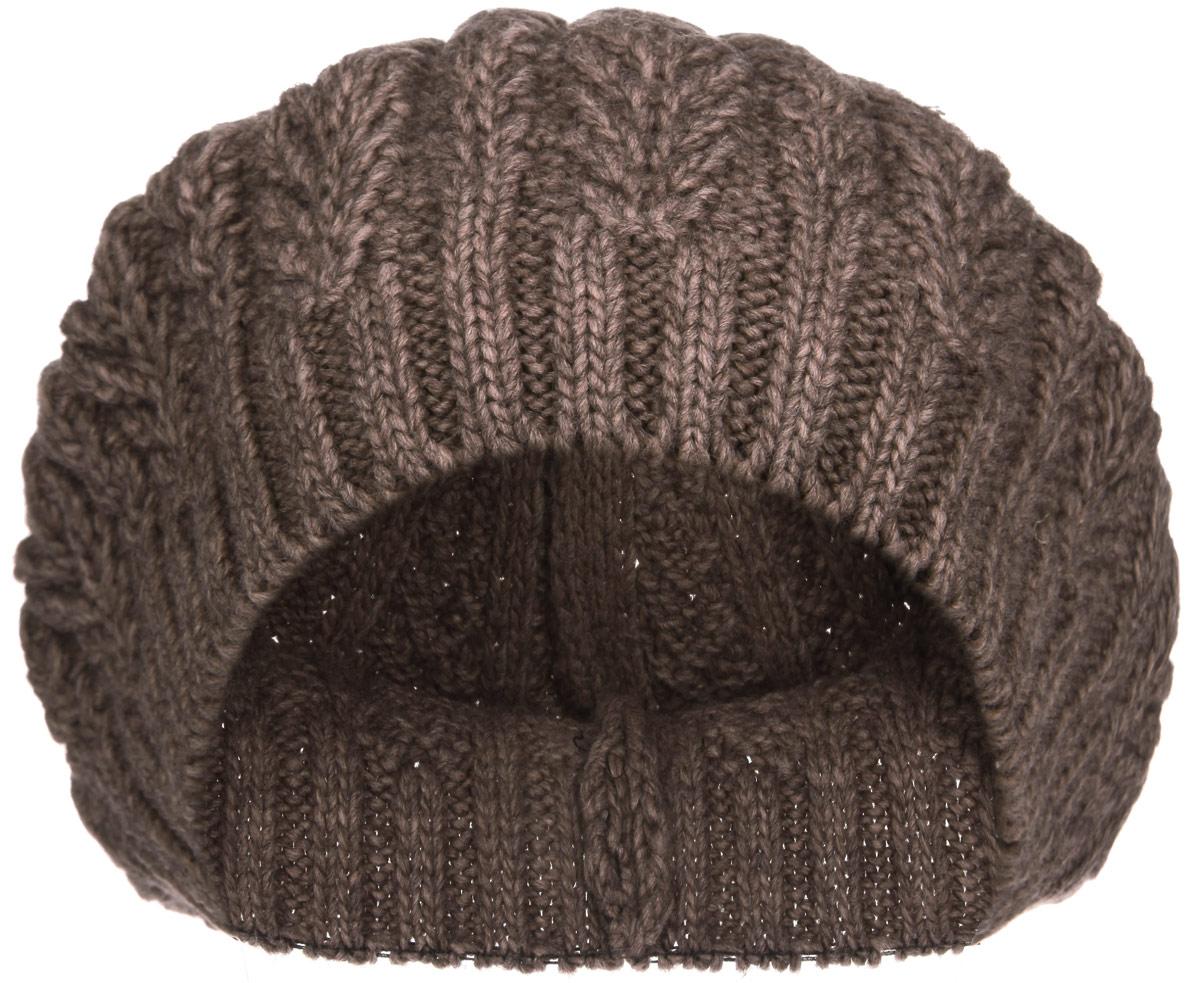 Берет1-037-001Элегантный женский берет Flioraj отлично дополнит ваш образ в холодную погоду. Берет крупой фактурной вязки выполнен из высококачественной комбинированной пряжи, что позволяет ему максимально сохранять тепло и обеспечивает удобную посадку. Берет оформлен объемным вязаным узором и дополнен эластичной резинкой. Такая модель комфортна и приятна на ощупь, она великолепно подчеркнет ваш вкус и подойдет к любому наряду. Такой берет станет отличным дополнением к вашему осеннему или зимнему гардеробу, в нем вам будет уютно и тепло! Уважаемые клиенты! Размер, доступный для заказа, является обхватом головы.