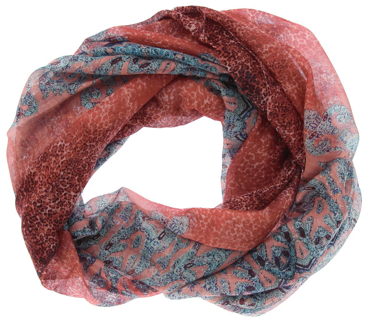 Палантин. 45011014501101-04Яркий палантин Venera средней плотности изготовлен из шерсти и шелка. Теплая ткань согреет от знойного ветра и холода, а яркие красивые кружки по всему аксессуару придадут вашему образу стильности, поднимут настроение и позволят сочетать палантин с одеждой любой цветовой гаммы. Этот модный аксессуар женского гардероба гармонично дополнит образ современной женщины, следящей за своим имиджем и стремящейся всегда оставаться стильной и элегантной. В этом палантине вы всегда будете выглядеть женственной и привлекательной.