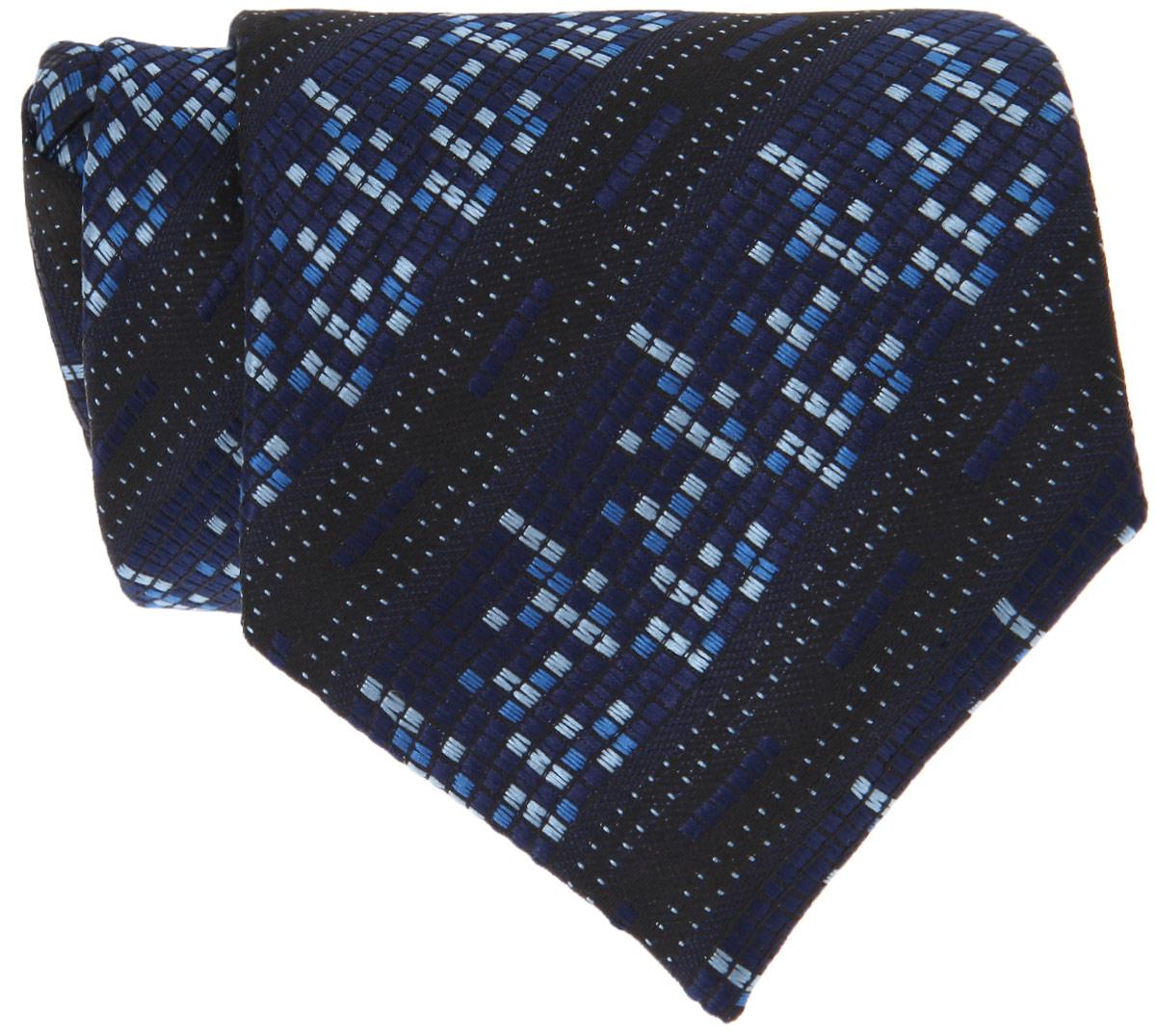 Галстук для мальчика. 103-05_De Color103-05_De ColorДлинный галстук для мальчика Tsarevich, выполненный из 100% полиэстера, идеально подойдет вашему юному моднику. Галстук дополнен резинкой с пластиковой защелкой. Длина резинки регулируется. Оформлено изделие оригинальным принтом. Такой стильный аксессуар является оптимальным завершением образа.