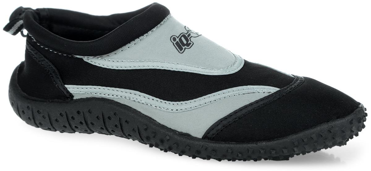 Обувь для кораллов. 332515-2800332515-2800Обувь для кораллов iQ предназначена для пляжного отдыха, плавания в открытой воде, а также для любых видов водного спорта. Модель выполнена из неопрена и дополнена в области щиколотки шнурком с фиксатором, который плотно и надежно закрепит обувь на ноге, предотвращая ее соскальзывание при плавании и занятиях водными видами спорта. Подкладка и стелька из текстиля обеспечат комфорт и уют ногам. Аквашузы очень легки и быстро сохнут. Задник дополнен ярлычком для более удобного надевания обуви. Литая резиновая подошва не скользит и защищает от порезов. Такие тапочки идеально подойдут для активного отдыха на каменистых пляжах, хождению по кораллам или горячему песку, а также для занятий аквааэробикой в бассейне.