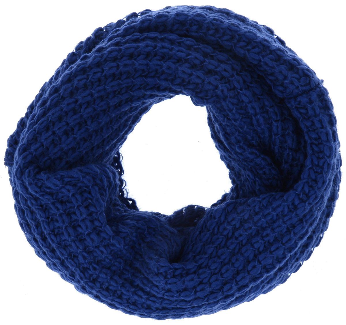 Снуд-хомут женский. 93023039302303-01Уютный шарф-снуд Venera - отличная модель для холодной погоды, он подчеркнет вашу оригинальность и неповторимый вкус. Он превосходно дополнит любой наряд и согреет вас в прохладное время года. Снуд выполнен из высококачественной комбинированной пряжи из акрила и шерсти. Модель крупной вязки красиво драпируется и надежно защитит ваши плечи и шею от ветра и холода. Снуд - это объемный шарф, связанный по кругу. Этот модный аксессуар гармонично дополнит образ современной женщины, следящей за своим имиджем и стремящейся всегда оставаться стильной и элегантной.