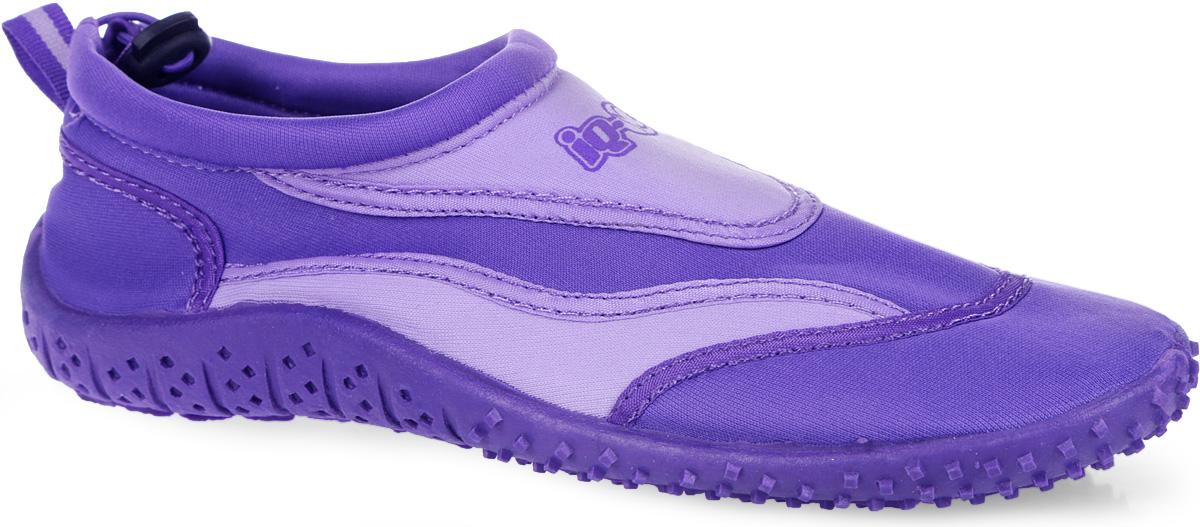 Обувь для кораллов женская. 332515-2358332515-2358Женская обувь для кораллов iQ предназначена для пляжного отдыха, плавания в открытой воде, а также для любых видов водного спорта. Модель выполнена из неопрена и дополнена в области щиколотки шнурком с фиксатором, который плотно и надежно закрепит обувь на ноге, предотвращая ее соскальзывание при плавании и занятиях водными видами спорта. Подкладка и стелька из текстиля обеспечат комфорт и уют ногам. Аквашузы очень легки и быстро сохнут. Задник дополнен ярлычком для более удобного надевания обуви. Литая резиновая подошва не скользит и защищает от порезов. Такие тапочки идеально подойдут для активного отдыха на каменистых пляжах, хождению по кораллам или горячему песку, а также для занятий аквааэробикой в бассейне.