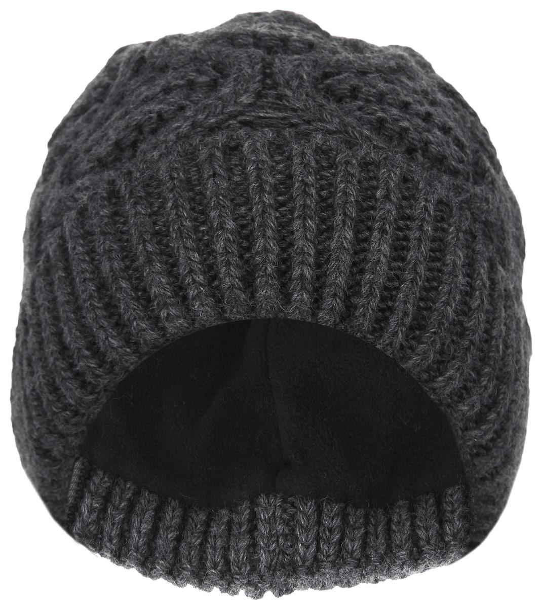Шапка женская. 3-0403-040_001Стильная женская шапка Flioraj дополнит ваш образ в холодную погоду. Модель выполнена из высококачественной шерсти в сочетании с акрилом, необычайно мягкая и приятная на ощупь, максимально сохраняет тепло. Подкладка шапки изготовлена из теплого мягкого флиса. Шапка с отворотом оформлена крупным вязаным узором. Такой аксессуар подчеркнет вашу индивидуальность и станет модным дополнением к вашему зимнему гардеробу. Уважаемые клиенты! Размер, доступный для заказа, является обхватом головы.