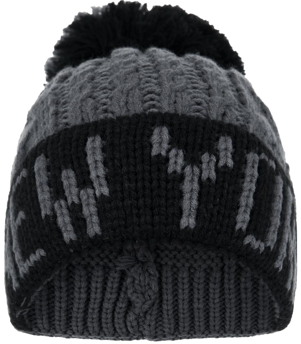 Шапка New York. HNY155HNY155-AСтильная шапка Robin Ruth с вязаной надписью New York приятно дополнит ваш образ в холодную погоду. Шапка подходит для повседневной носки и для активного зимнего отдыха, а также в качестве подарка вашим родным и знакомым. Шапка оформлена помпоном и отворотом. Теплая шапка станет отличным дополнением к вашему гардеробу, в ней вам будет уютно и тепло!