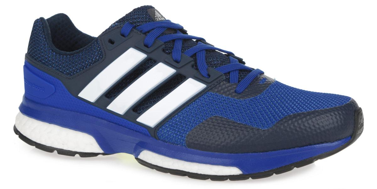Кроссовки для бега мужские Response Boost 2B33486Мужские кроссовки для бега от Adidas Response Boost 2 - достойный выбор для спортсменов, устанавливающих перед собой высокие цели и стремящихся к их достижению. Модель, выполненная из комбинации текстиля и искусственных материалов с дышащим сетчатым верхом, дарит комфорт и легкость во время ходьбы или бега. Верх изделия оформлен шнуровкой, которая надежно фиксирует обувь на ноге. Подкладка и стелька, исполненные из текстиля, обеспечат уют ногам. Уникальный дизайн в сочетании с технологией boost, в промежуточной части подошвы, обеспечивает максимум энергии во время тренировки. Конструкция пятки эффективно поглощает силу удара при каждом шаге, а вставка Torsion System поддерживает свод стопы. По бокам кроссовки декорированы тремя фирменными полосками, а на язычке и заднике тиснением в виде логотипа бренда. Подошва, изготовленная из гибкой резины Continental, обеспечит прочное сцепление с любой поверхностью.