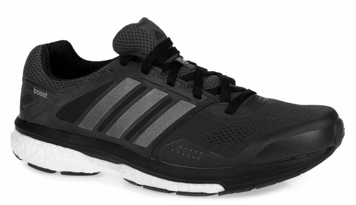 Кроссовки для бега мужские Supernova Glide 7B35999Мужские кроссовки для бега от Adidas Supernova Glide 7 - достойный выбор для спортсменов, устанавливающих перед собой высокие цели и стремящихся к их достижению. Модель, выполненная из комбинации текстиля с бесшовной сеткой в передней части кроссовок и искусственных материалов, дарит комфорт и легкость во время ходьбы или бега. Верх изделия оформлен шнуровкой, которая надежно фиксирует обувь на ноге. Подкладка и стелька, исполненные из текстиля, обеспечат уют ногам. Уникальный дизайн в сочетании с технологией boost, в промежуточной части подошвы, обеспечивает максимум энергии во время тренировки. Конструкция пятки эффективно поглощает силу удара при каждом шаге, а вставка Torsion System поддерживает свод стопы. По бокам кроссовки декорированы декорированы тремя вставками в виде полос, а на язычке и заднике тиснением в виде логотипа бренда. Подошва, изготовленная из резины Continental, обеспечит прочное сцепление с любой поверхностью.