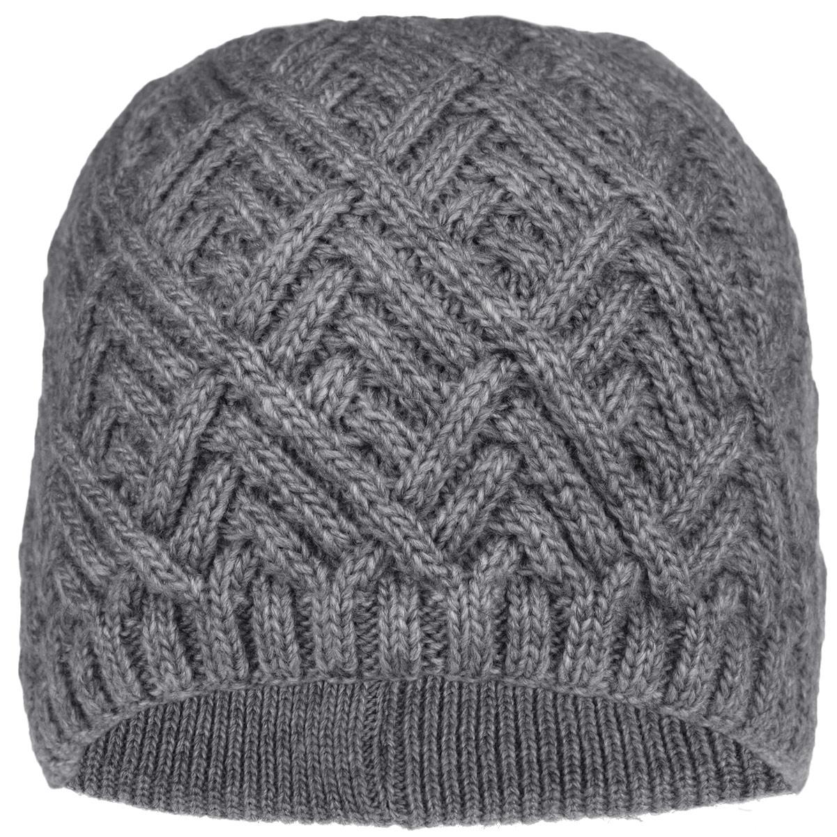Шапка женская. 3-0183-018_001Стильная женская шапка Flioraj с фактурной вязкой дополнит ваш образ в холодную погоду. Модель выполнена из высококачественной шерсти в сочетании с акрилом, мягкая и приятная на ощупь. Шапочка двойная, идеально прилегает к голове, надежно защищая от ветра и мороза. Край шапки связан резинкой средней ширины. Изделие оформлено декоративным вязаным узором. Такой теплый аксессуар подчеркнет вашу женственность и неповторимость, а также защитит от холода и создаст ощущение комфорта. Уважаемые клиенты! Размер, доступный для заказа, является обхватом головы.