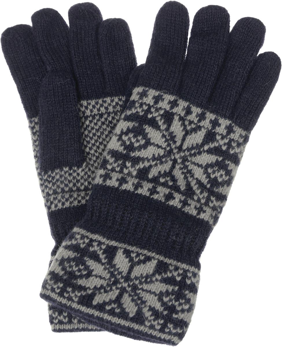 Перчатки женские. W37W37Теплые вязаные женские перчатки Modo Gru станут великолепным дополнением вашего образа и защитят ваши руки от холода и ветра во время прогулок. Перчатки выполнены из шерсти с добавлением нейлона, подкладка выполнена из акриловой пряжи, что позволяет перчаткам надежно сохранять тепло и обеспечивает удобство и комфорт при носке. Модель оформлена стильным скандинавским орнаментом. Такие перчатки будут оригинальным завершающим штрихом в создании современного модного образа, они подчеркнут ваш изысканный вкус и станут незаменимым и практичным аксессуаром.