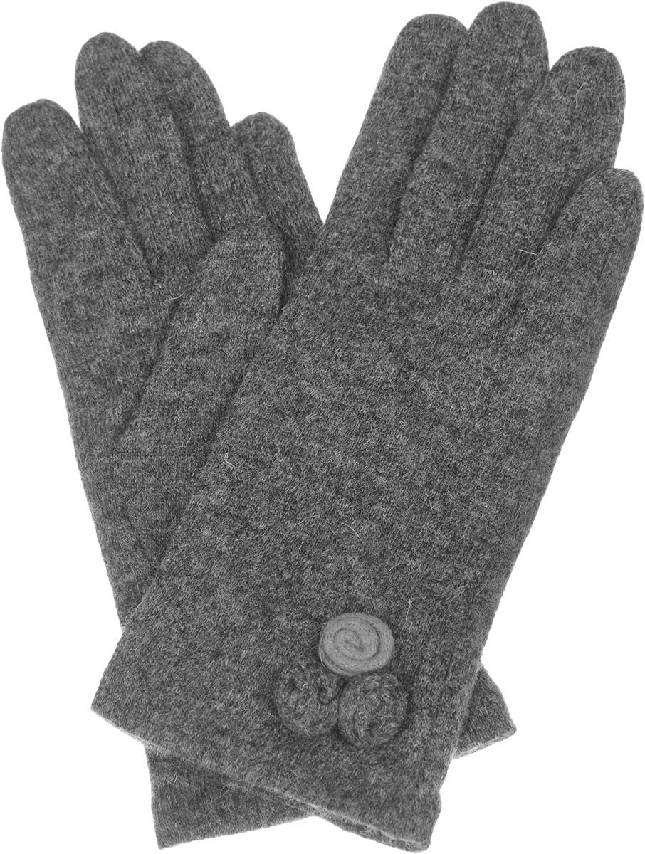 Перчатки женские. LB-PH-73LB-PH-73Элегантные женские перчатки Labbra станут великолепным дополнением вашего образа и защитят ваши руки от холода и ветра во время прогулок. Перчатки выполнены из шерсти с добавлением акрила и ангоры, что позволяет им надежно сохранять тепло и обеспечивает удобство и комфорт при носке. Модель украшена тремя небольшими декоративными розами на манжете. Такие перчатки будут оригинальным завершающим штрихом в создании современного модного образа, они подчеркнут ваш изысканный вкус и станут незаменимым и практичным аксессуаром.