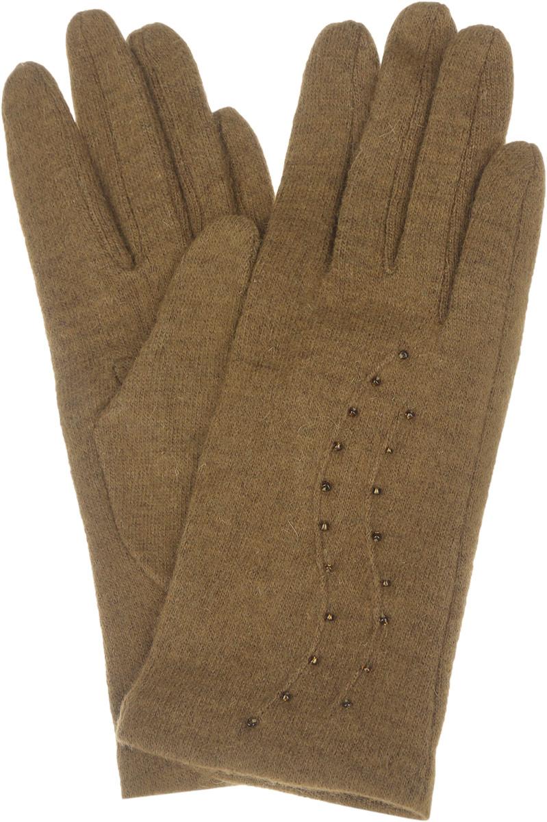 Перчатки женские. LB-PH-75LB-PH-75Элегантные женские перчатки Labbra станут великолепным дополнением вашего образа и защитят ваши руки от холода и ветра во время прогулок. Перчатки выполнены из шерсти с добавлением акрила и ангоры, что позволяет им надежно сохранять тепло и обеспечивает удобство и комфорт при носке. Модель декорирована мелкими бусинами. Такие перчатки будут оригинальным завершающим штрихом в создании современного модного образа, они подчеркнут ваш изысканный вкус и станут незаменимым и практичным аксессуаром.