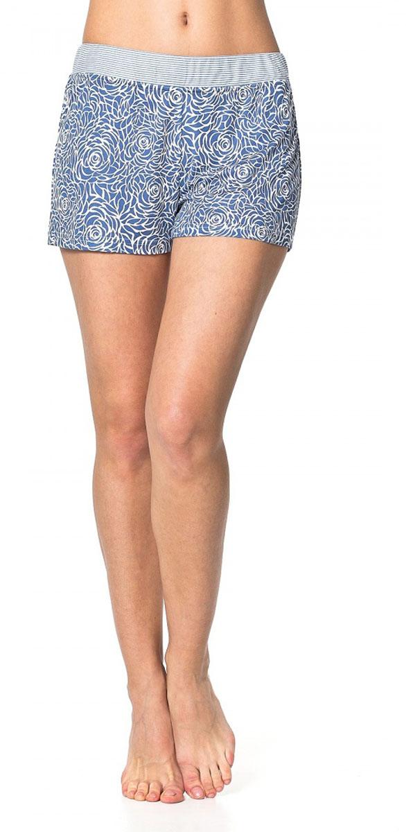 R1550-55Легкие пижамные шорты Ardi, выполненные из комбинированного материала, необычайно мягкие и приятные на ощупь, не сковывают движения, обеспечивая наибольший комфорт. Модель прямого кроя оформлена нежным цветочным принтом. По верхнему краю изделия широкий пояс из отделочной ткани в полоску с резинкой внутри.