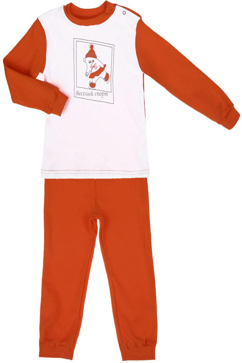 КотМарКот Пижама для мальчика Спорт. 16185